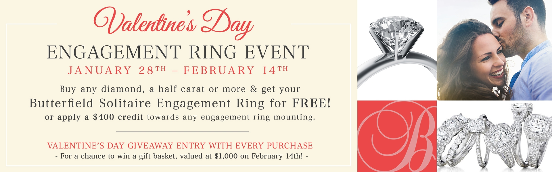 Valentines Day Free Ring Event